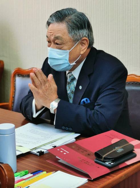 外交部次長田中光。記者賴錦宏/攝影