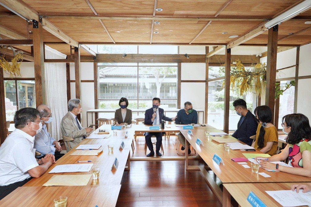 新竹市文化基金會第11屆董監事會議。圖/竹市府提供