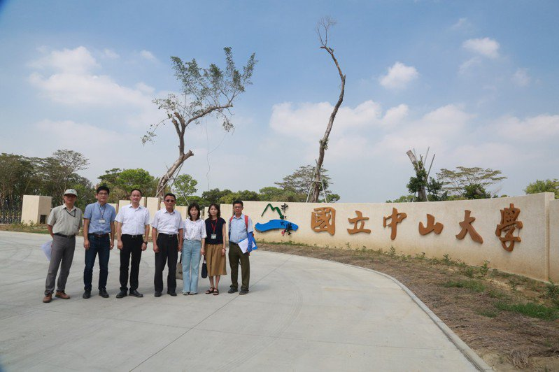 中山大學仁武校區近一年來推進快速。記者王昭月/攝影