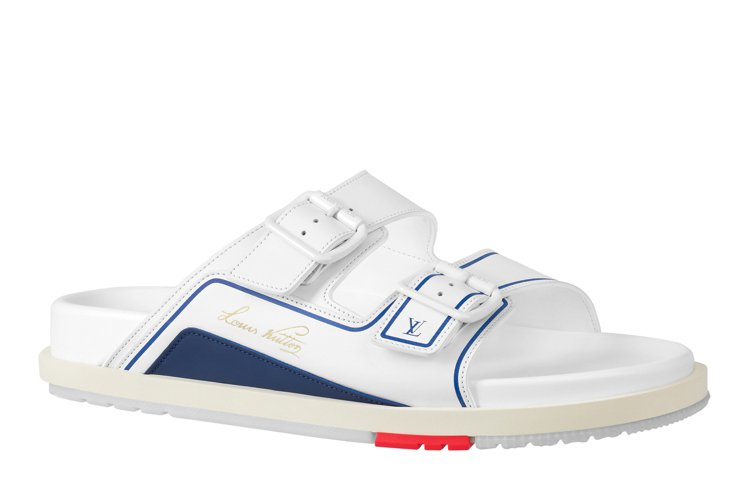 LV×NBA 2021早秋男裝系列鞋款,價格店洽。圖/LV提供