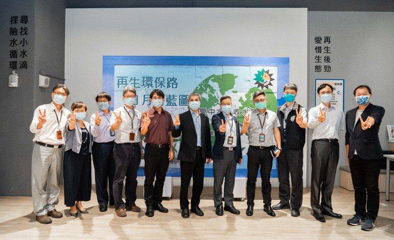日月光高雄廠今天於綠科技教育館舉辦歡慶中水回收達2千萬噸活動。圖/日月光高雄廠提供