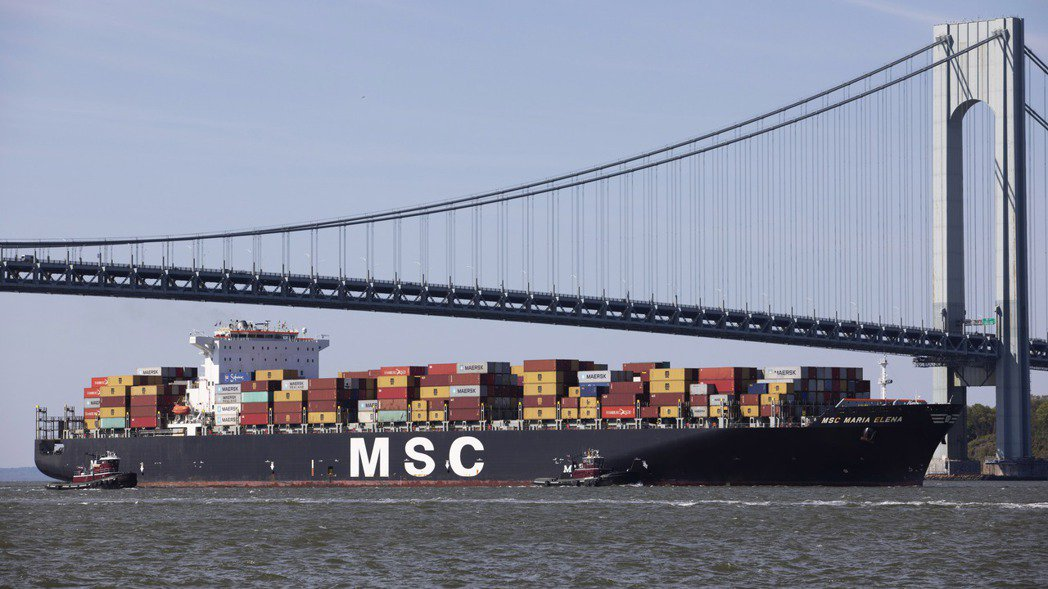海運業已受印度疫情拖累。 美聯社