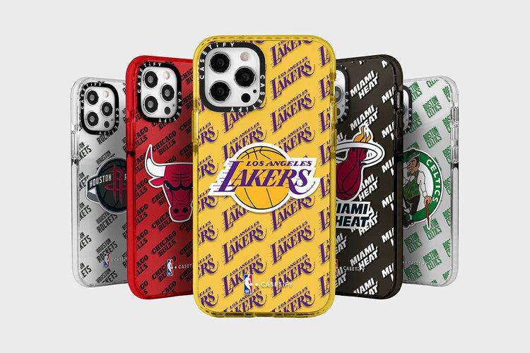 NBA x CASETIFY聯名系列以NBA聯盟全數 30 支球隊為設計靈感,推...
