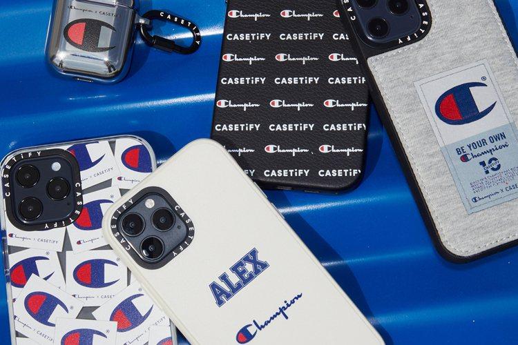 Champion x CASETiFY聯名系列完美融合雙方品牌元素,更可加入品牌...