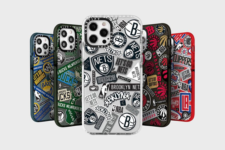 NBA x CASETIFY系列融合NBA各球隊特色,包含各隊Logo及品牌經典...