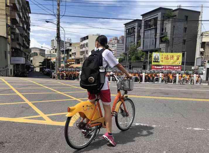 彰化微笑單車退場,新系統業者MOOVO接手恐有2個月空窗期。報系資料照