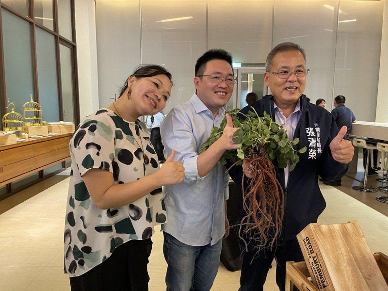 台灣蓋婭社會企業致力友善大地,在高雄種出無毒丹參。記者王昭月/攝影