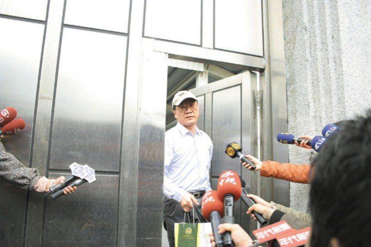 余文因馬英九特別費案於2008年6月入獄服刑,隔年4月才獲准假釋出獄。圖/聯合報系資料照片