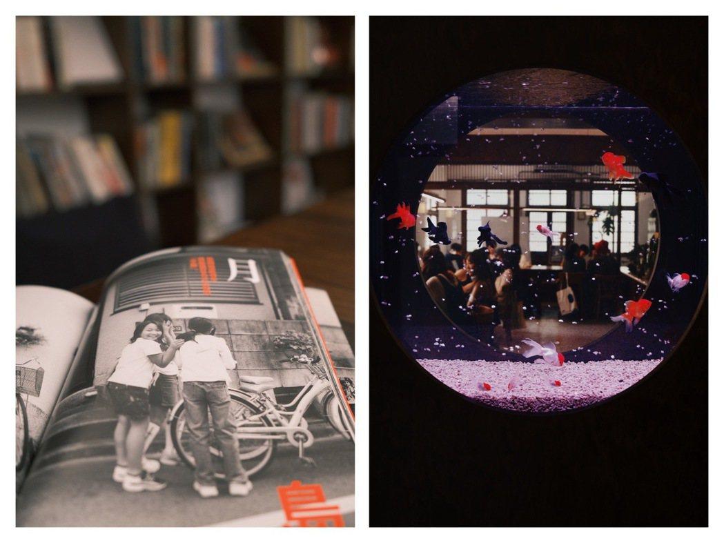 結合咖啡與畫室的「玉虫画室」。 圖/江佩君攝影