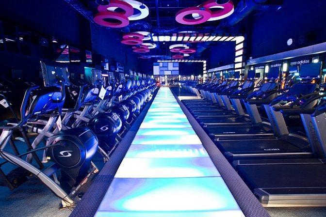 極限健身場地舒適,讓會員用健康帶入生活。 極限健身/提供