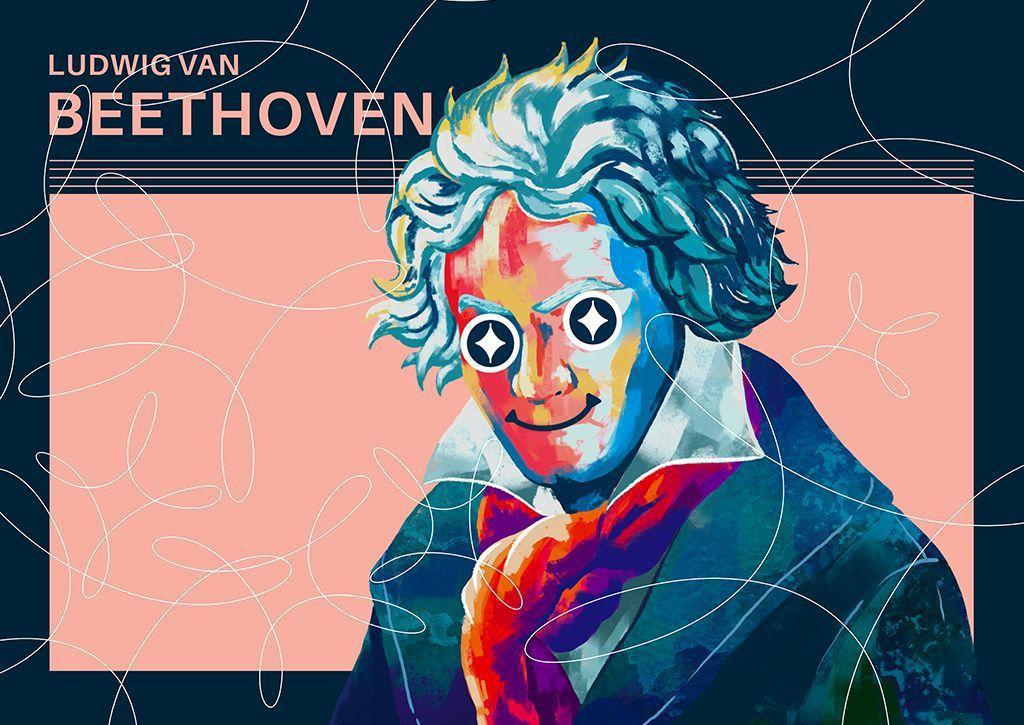 〈貝多芬250年紀念〉樂來樂懂你線上展,是由德國紀念貝多芬委員會發起的世界性藝文...