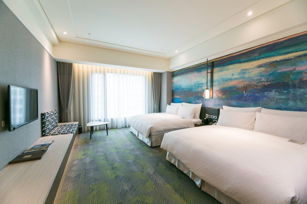 美麗信花園酒店,五星級防疫旅館。美麗信花園酒店/提供