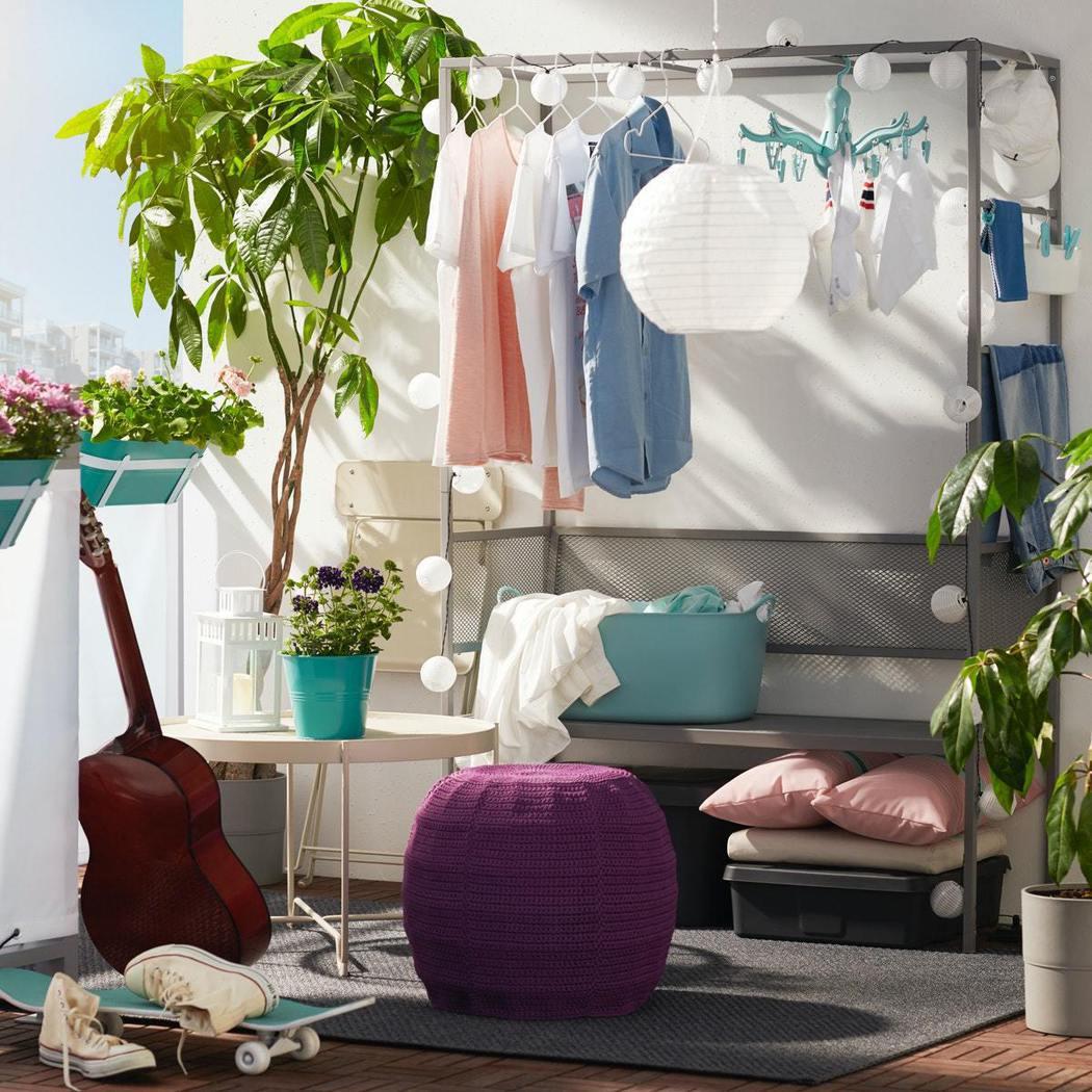 多功能SVANÖ長凳,可以一次滿足收納、曬衣服或是享受夏日時光的需求! IKEA...