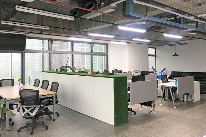 川連國際貿易辦公室一隅。業者/提供。