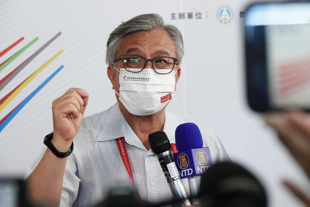 110全大運發言人李俊璋。