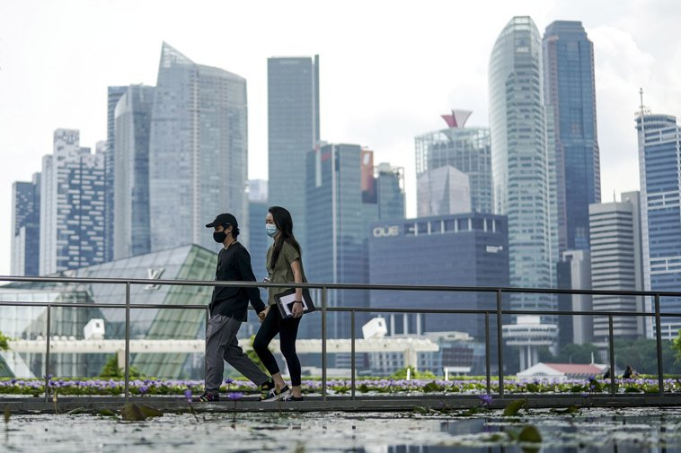 新加坡示意圖。 歐新社