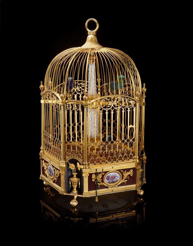 Jaquet Droz「鳥籠(1780)」。圖 / Jaquet Droz提供。
