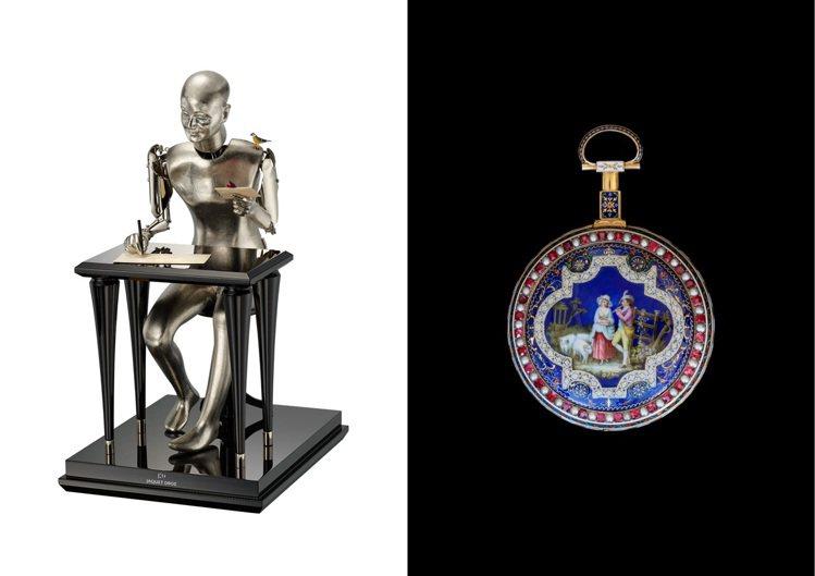 Jaquet Droz應米蘭文化博物館(MUDEC)之邀,特地於「自動玩偶歷史展...