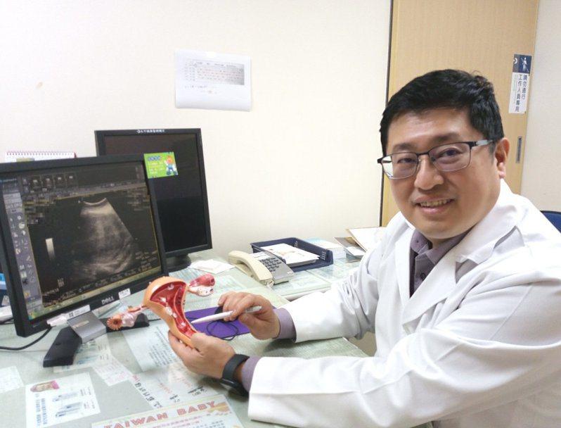 林敬旺提醒,子宮肌瘤雖多為良性,但若出現不正常出血、腹痛等症狀,應及早就醫。圖/大千綜合醫院提供