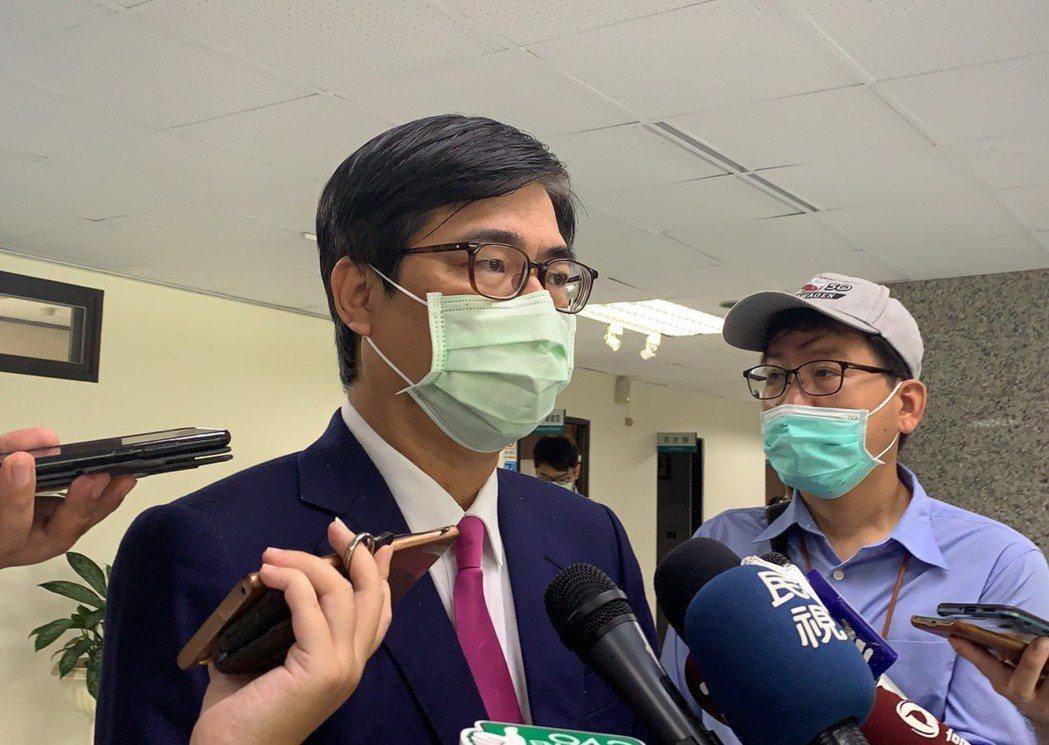 高雄市長陳其邁表示,台灣在防疫上是模範生、好學生,結果國家人民健康的基本權利卻被...