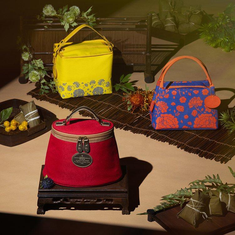 去年造搶購的水桶包款及托特包款的粽袋,再度推出新配色搶市,Pantone年度代表...