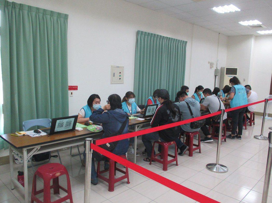 加工出口區管理處舉辦聯合徵才活動。照片/加工處提供