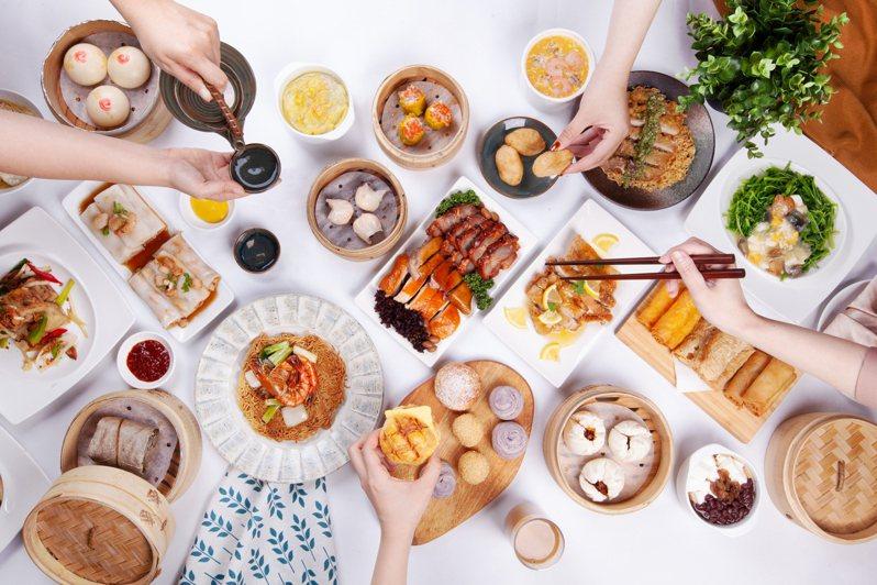 鳳凰軒有超過60道粵菜港點吃到飽。圖/長榮鳳凰酒店(礁溪)提供