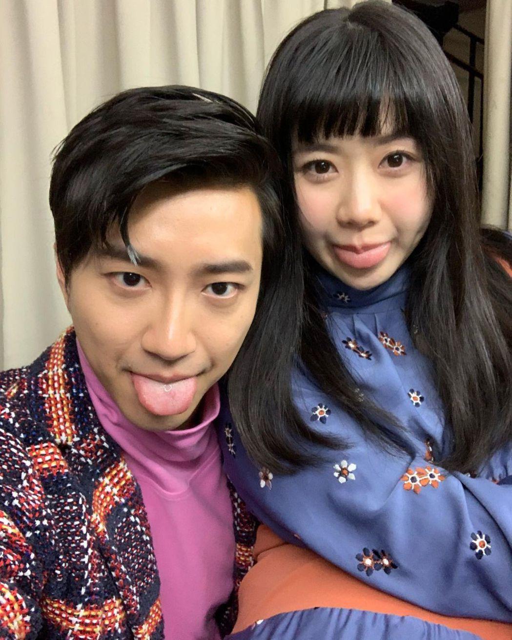 江宏傑(左)、福原愛夫婦曾是人人稱羨的神仙眷侶。圖/摘自IG