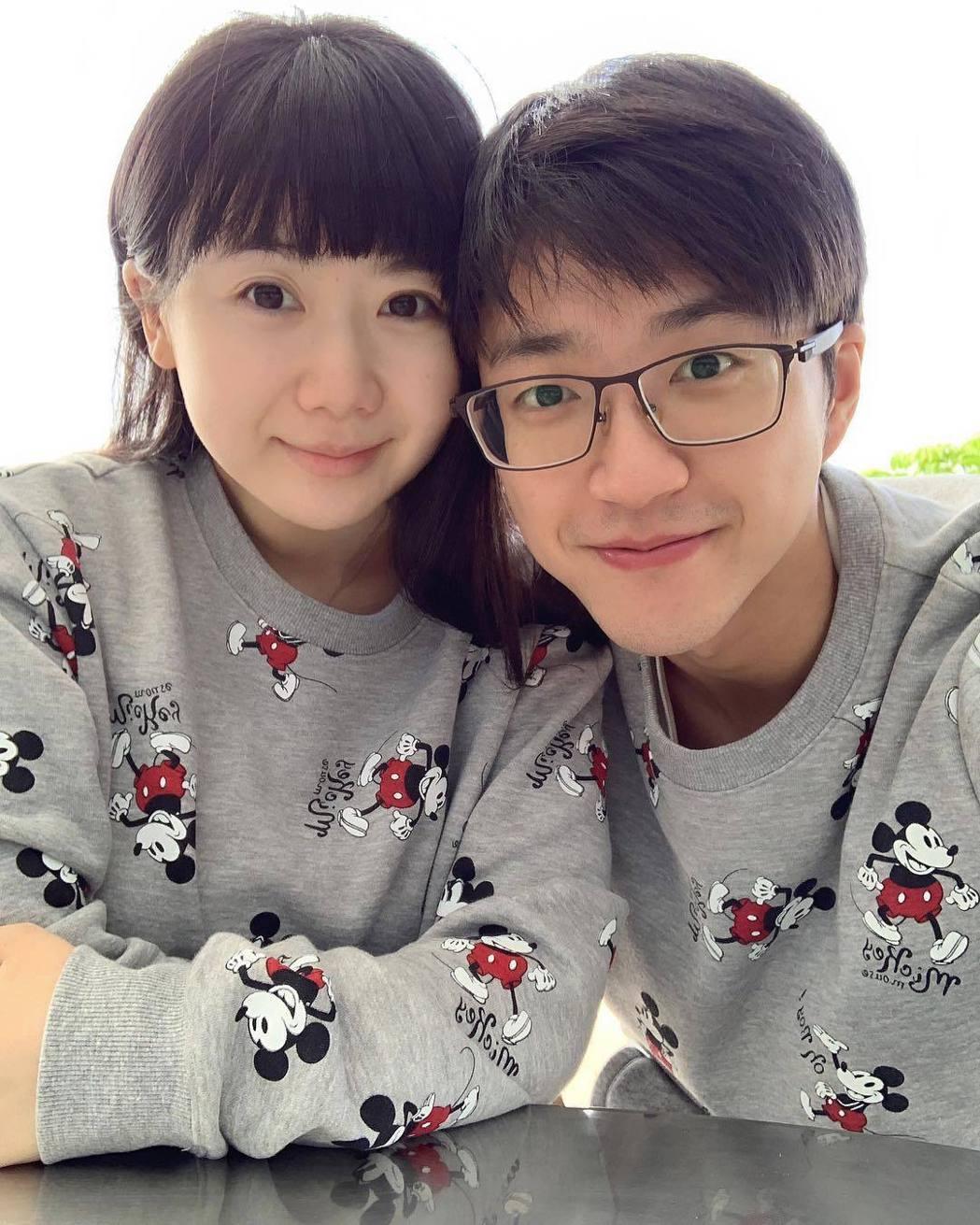 江宏傑(右)、福原愛的恩愛已成往事,跨國婚姻官司即將開打。圖/摘自IG