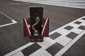 史上第一次!LV和F1摩納哥大獎賽合作 打造冠軍獎盃硬箱
