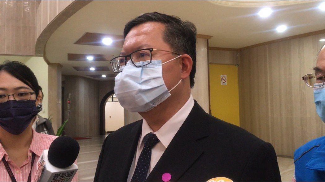 中央疫情指揮中心針對華航諾富特疫情推出清零2.0計畫,桃園市長鄭文燦表示會支持計...