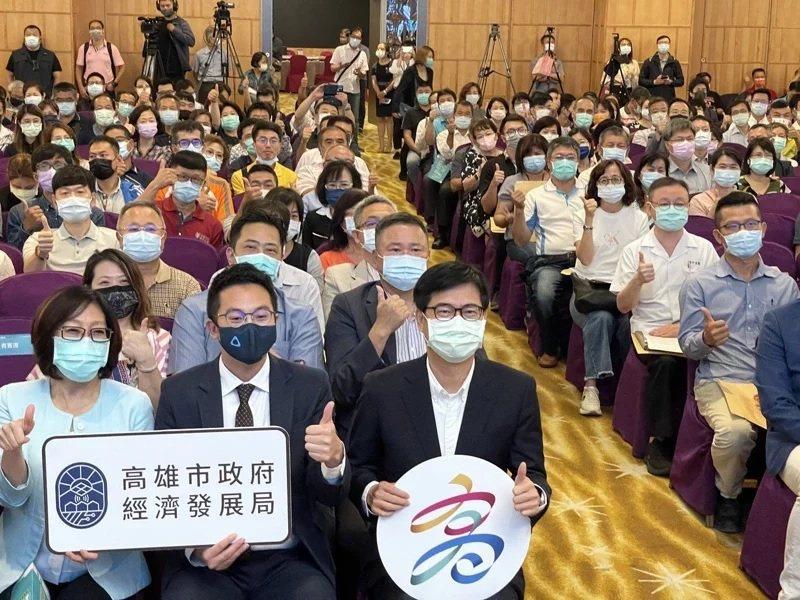 仁武產業園區今年4月22日舉辦招商說明會,吸引逾300家廠商參加。本報資料照片