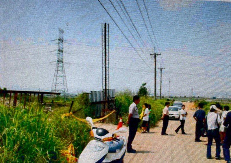 台中市林姓女子在2006年間,騎車行經龍井區高速公路附近的涵洞時,遭歹徒性侵未遂而被殺害,檢警一度抓錯人,讓無辜的柯姓男子遭關押5年多。圖/讀者提供