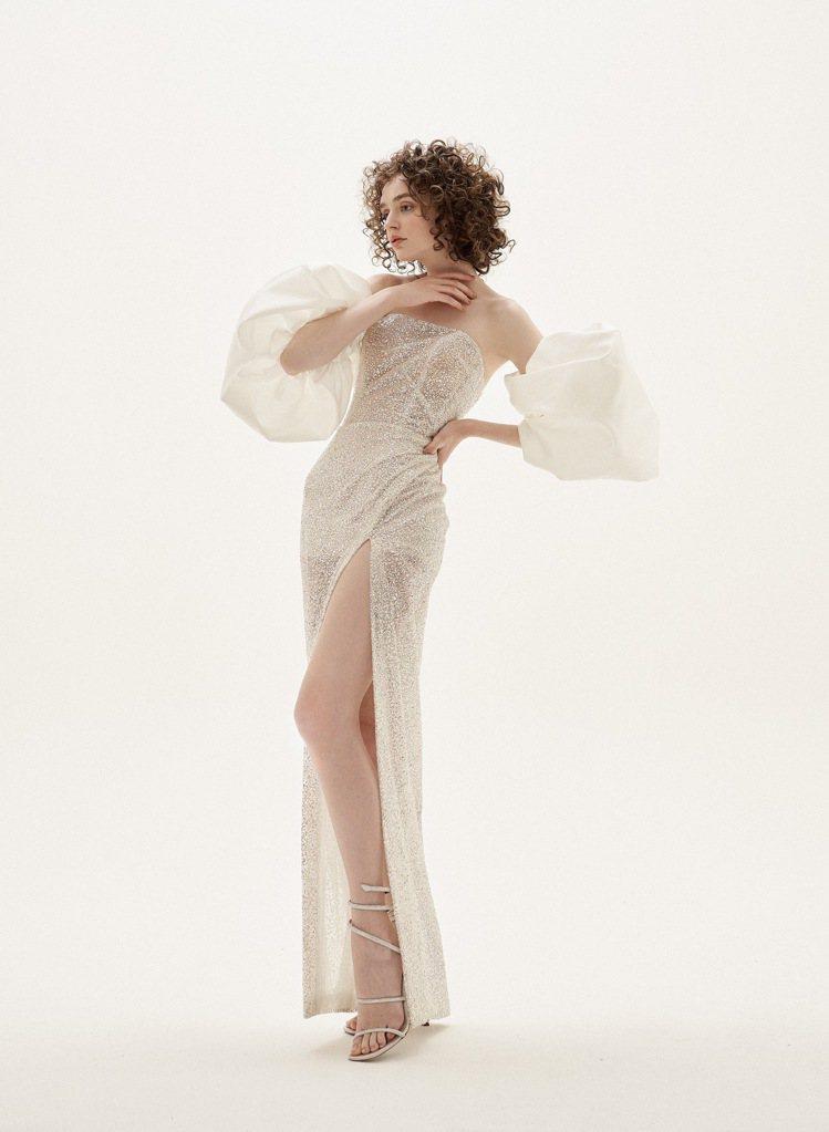 LinLi Boutique日前也發布了全新高訂系列禮服,這次以「Love is...