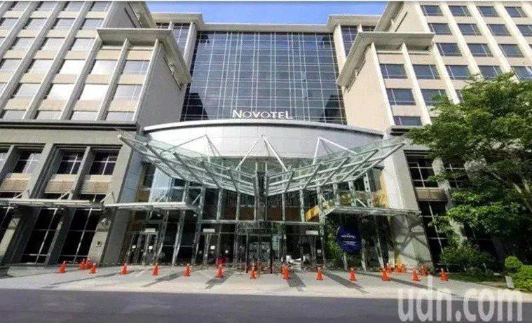 諾富特飯店預計六月下旬重啟。聯合報系資料照