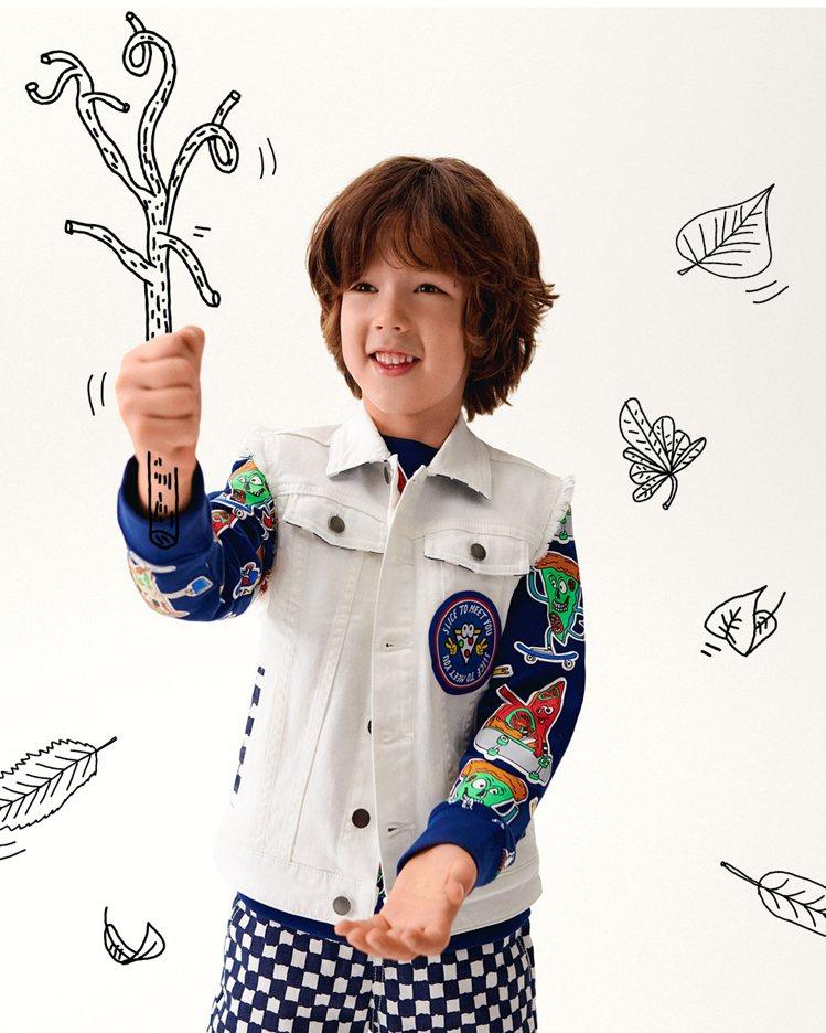 Stella McCartney的Kids系列100%由環保織物製成。圖/Ste...