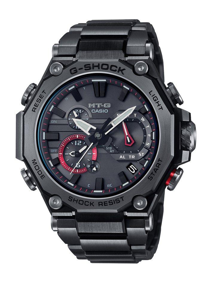 G-SHOCK MTG-B2000BDE腕表,電鍍黑不鏽鋼表殼、表鍊,約38,0...