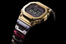 G-SHOCK人氣表款再進化 升級鈦合金、電鍍幻彩好吸睛