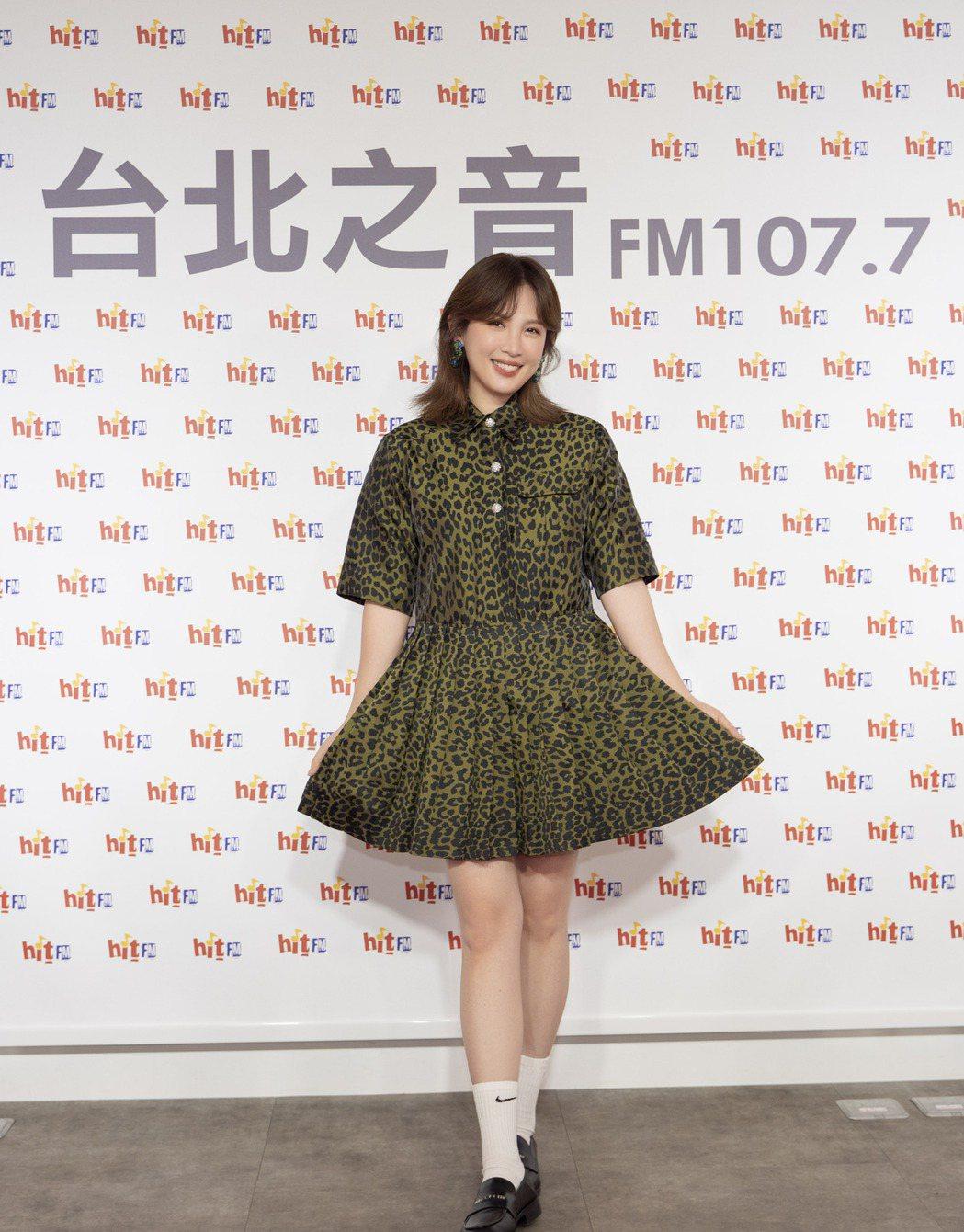 魏如萱去年在金曲獎封后,今年看好田馥甄、萬芳、蘇慧倫。圖/Hit Fm提供
