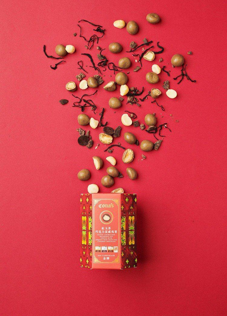 妮娜巧克力在世界巧克力大賽連摘9獎,驚艷全場。圖/Cona's 妮娜巧...