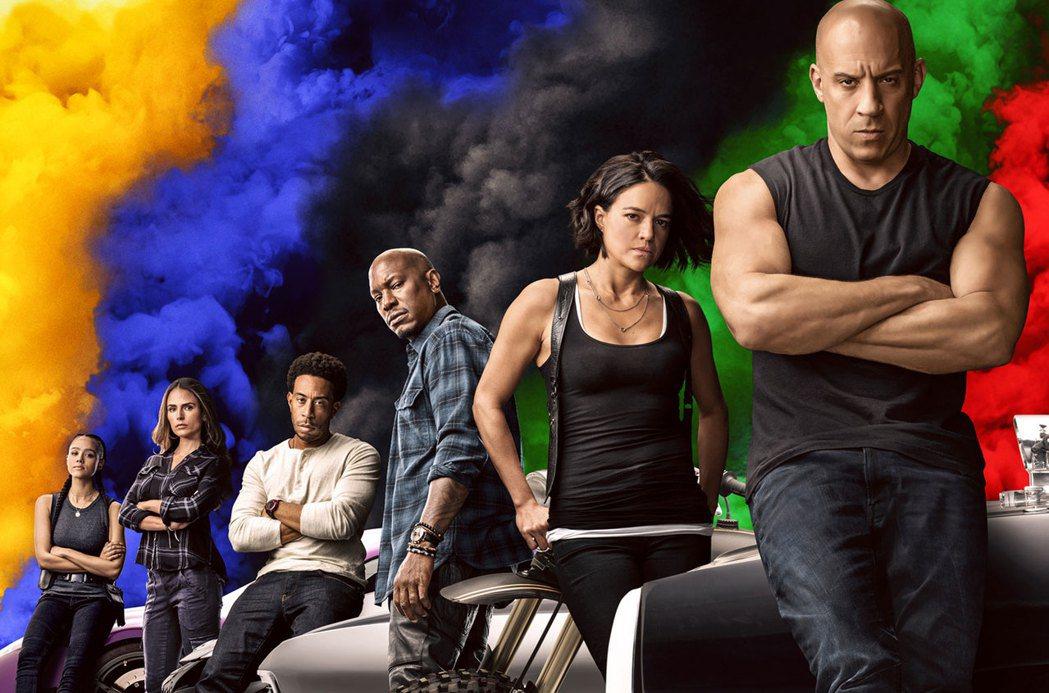 「玩命關頭9」原定本月19日就在台上映,現仍在最後考量中。圖/摘自imdb