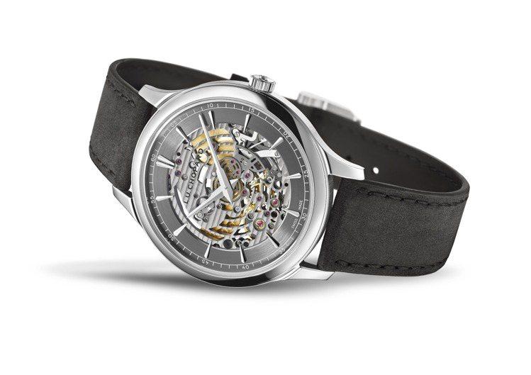 L.U.C XP Skeletec腕表,40毫米符合倫理道德標準的18K白金、自...