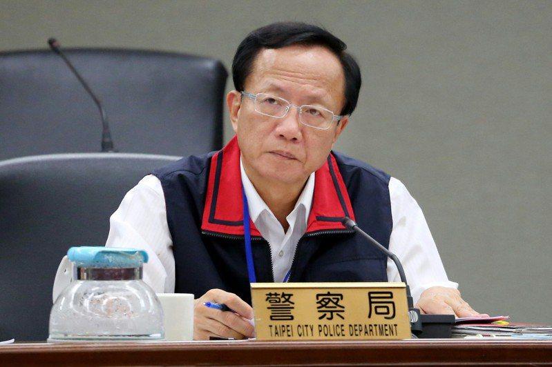 台北市警局長陳嘉昌(圖)交出的手機,經查也沒有與相關人等、或者被影射的黑幫大老有交集。圖/北市府提供