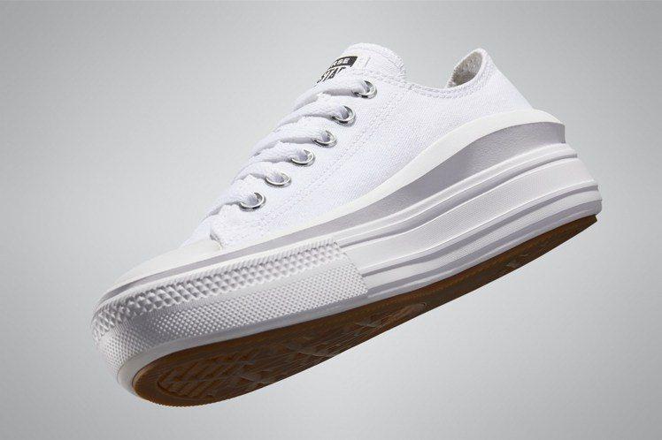Chuck Taylor All Star Move系列低筒鞋2,180元。圖/...