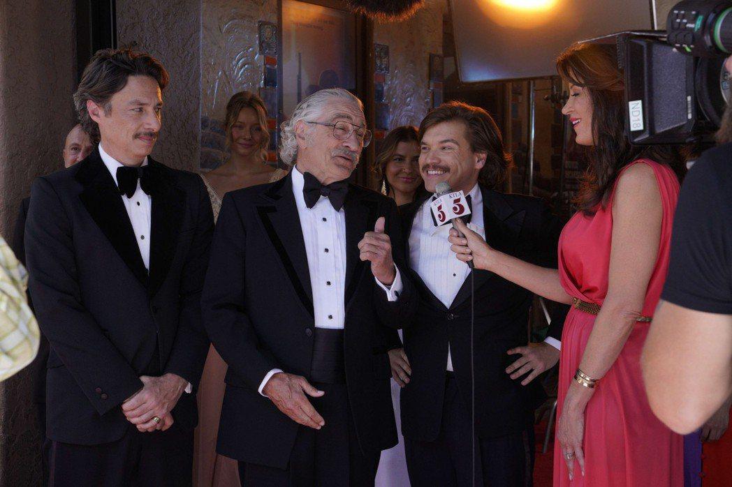 勞勃狄尼洛在「詐製片家」有搞笑演出。圖/甲上提供