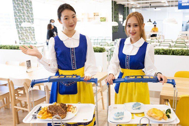 IKEA餐廳明天起全面實聯制。本報資料照片