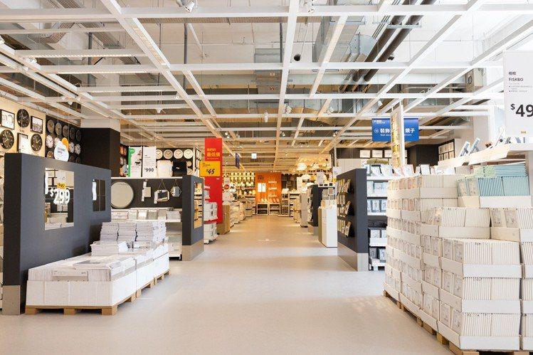 IKEA全面提升防疫作為。本報資料照片