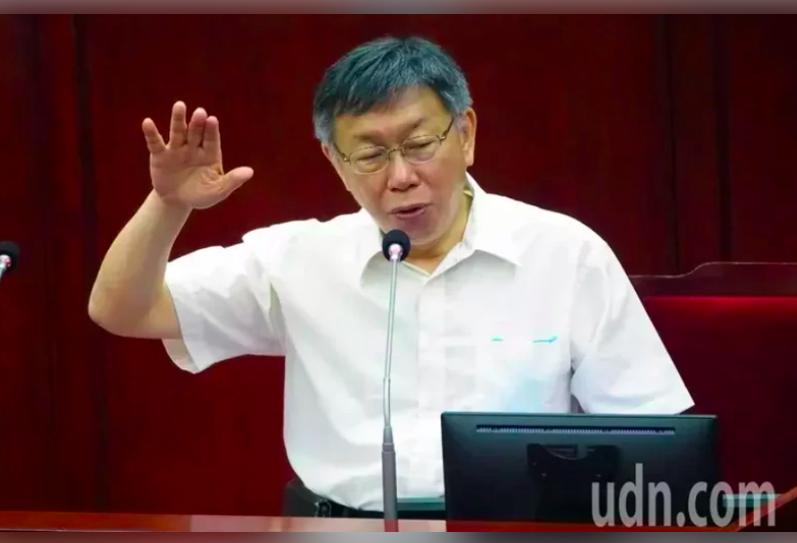 北市府發言人陳智菡表示,市長柯文哲的確在警察局報告中山分局貪瀆事件時,相當生氣,但並無會議飆罵兩個小時。本報資料照片
