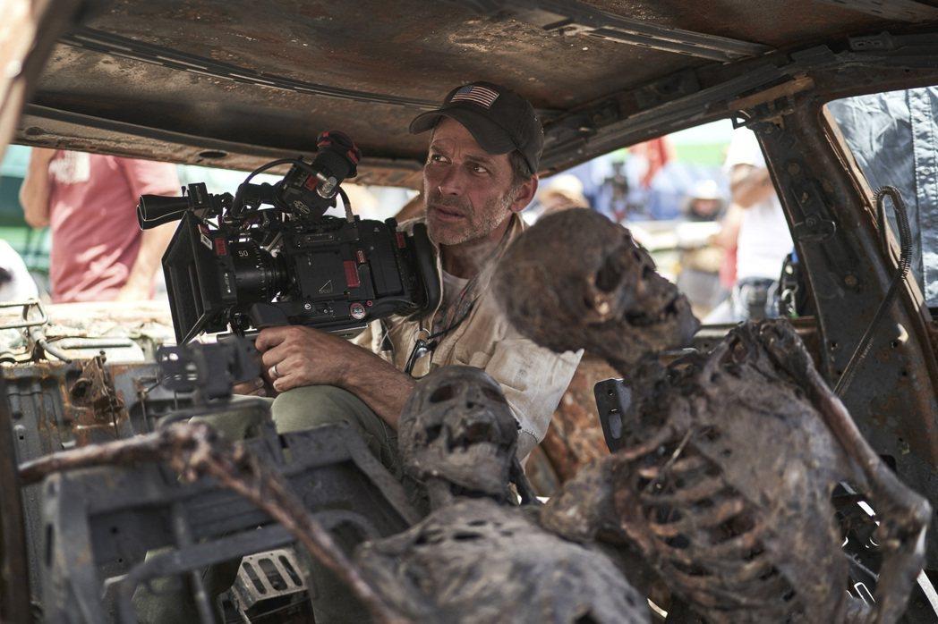 查克史奈德為「活屍大軍」投注許多心力。圖/Netflix提供