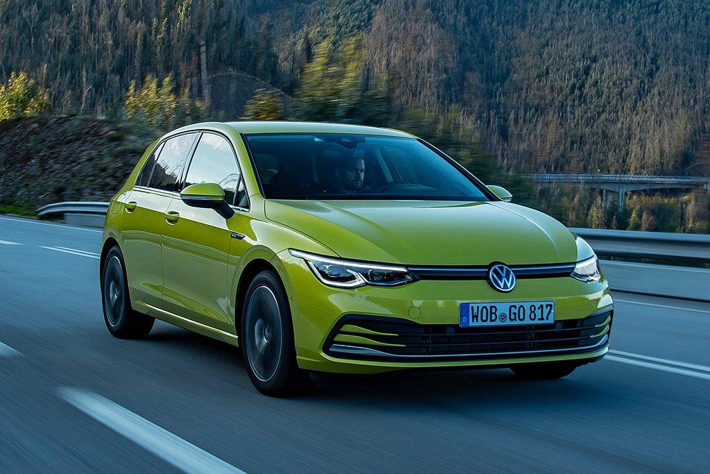 福斯Golf第八代推出即成為2020年德國與歐洲地區銷量冠軍,並且獲得2020英...
